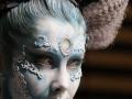 photo Copyright Gerard SANCHEZ-ALLAIS - Show - BS LYON 2018 - Stand et Show body-painting PEYREFITTE MAKE UP_0974.jpg