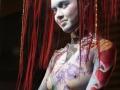 photo Copyright Gerard SANCHEZ-ALLAIS - Show - BS LYON 2018 - Stand et Show body-painting PEYREFITTE MAKE UP_2040.jpg