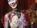 photo Copyright Gerard SANCHEZ-ALLAIS - Show - BS LYON 2018 - Stand et Show body-painting PEYREFITTE MAKE UP_2122.jpg